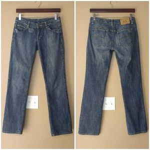 Armani Exchange Distressed Denim Jeans